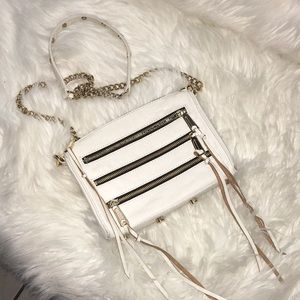 Rebecca minkoff mini 5 leather crossbody Handbag